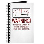 Bovine Excrement Detected Journal