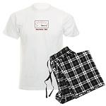 Awesomeness Meter - Im Awesome Men's Light Pajamas