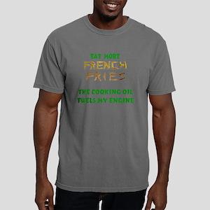 EatFriesNeedOil Mens Comfort Colors Shirt