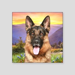 """Shepherd Meadow Square Sticker 3"""" x 3"""""""