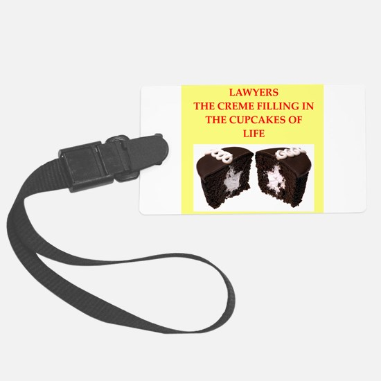 lawyer Luggage Tag