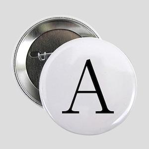 Greek Letter Alpha Button