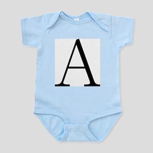 Greek Letter Alpha Infant Bodysuit