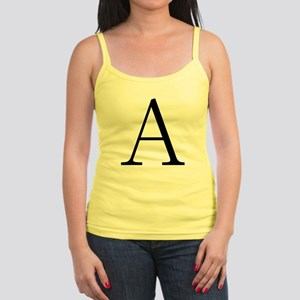 Greek Letter Alpha Jr. Spaghetti Tank