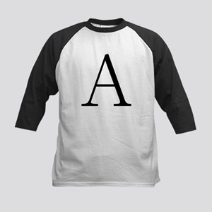Greek Letter Alpha Kids Baseball Jersey