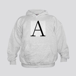 Greek Letter Alpha Kids Hoodie