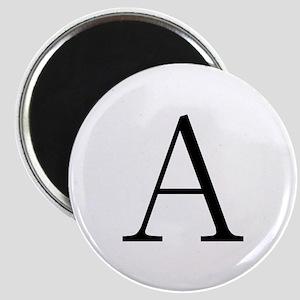 Greek Letter Alpha Magnet