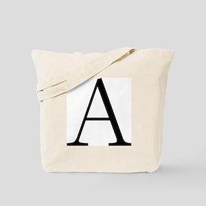Greek Letter Alpha Tote Bag