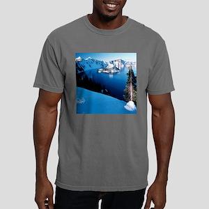 CrtrLake-Winter-Clocks.j Mens Comfort Colors Shirt