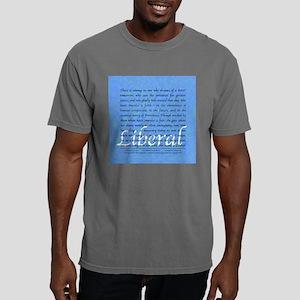Liberal square Mens Comfort Colors Shirt