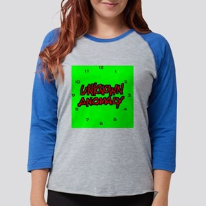 unknown clock Womens Baseball Tee