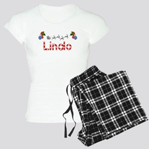 Lindo, Christmas Women's Light Pajamas