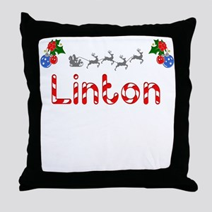 Linton, Christmas Throw Pillow