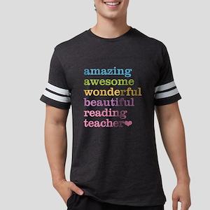 Reading Teacher Mens Football Shirt