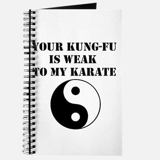 Kung-Fu Weak Journal