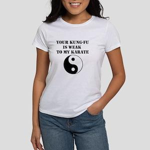 Kung-Fu Weak Women's T-Shirt