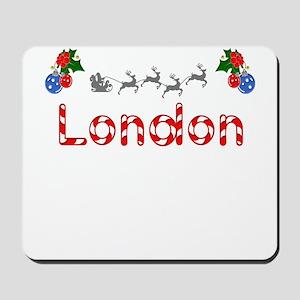 London, Christmas Mousepad
