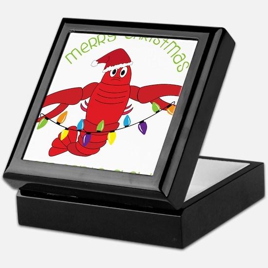 Merry Christmas Keepsake Box