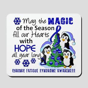 Holiday Penguins CFS Mousepad