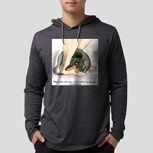 heartbeatbt6x6 Mens Hooded Shirt