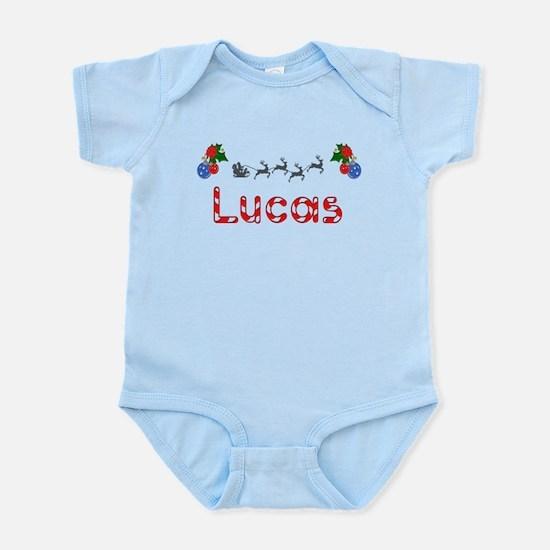Lucas, Christmas Infant Bodysuit