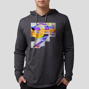 BassTrumpet01cs1sl Mens Hooded Shirt
