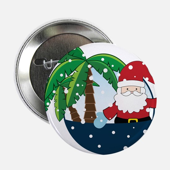 "Christmas In Paradise 2.25"" Button"