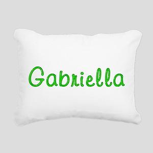 Gabriella Glitter Gel Rectangular Canvas Pillow