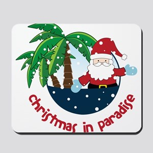 Christmas In Paradise Mousepad
