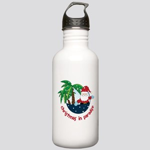 Christmas In Paradise Stainless Water Bottle 1.0L