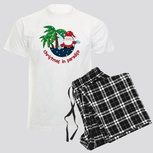 Christmas In Paradise Men's Light Pajamas
