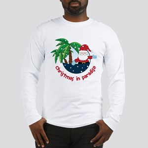 Christmas In Paradise Long Sleeve T-Shirt