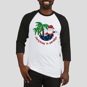Christmas In Paradise Baseball Jersey
