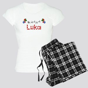 Luka, Christmas Women's Light Pajamas