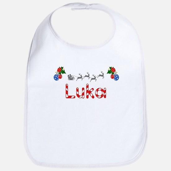 Luka, Christmas Bib