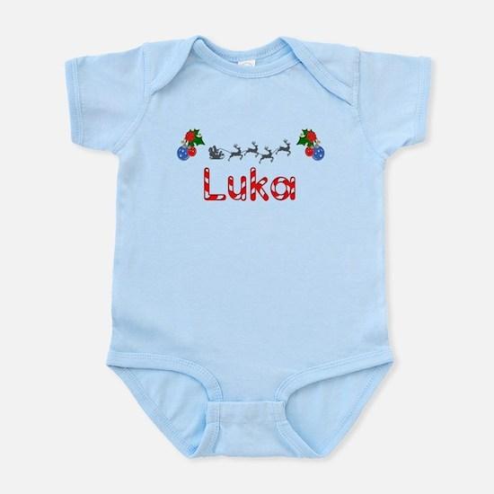 Luka, Christmas Infant Bodysuit