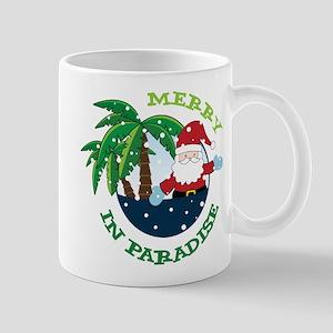 Merry In Paradise Mug