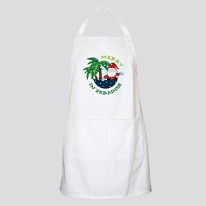 Merry In Paradise Apron