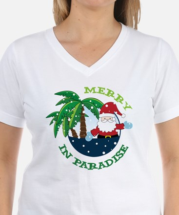 Merry In Paradise Shirt
