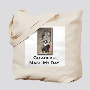 Little Skunk Big Attitude Tote Bag