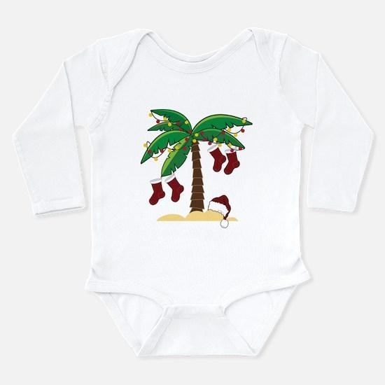 Tropical Christmas Onesie Romper Suit