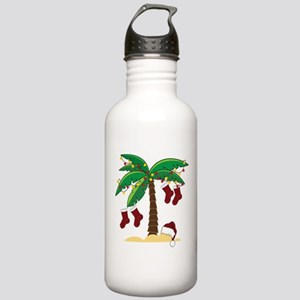 Tropical Christmas Stainless Water Bottle 1.0L