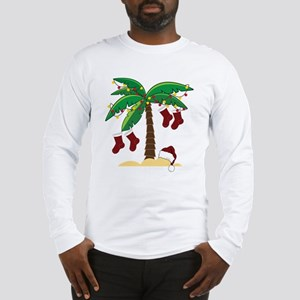 Tropical Christmas Long Sleeve T-Shirt
