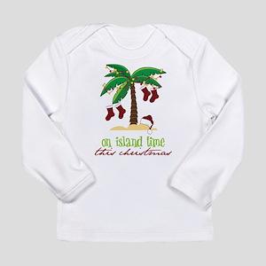 On Island Time Long Sleeve Infant T-Shirt