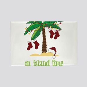 On Island Time Rectangle Magnet
