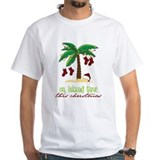 Island christmas Mens Classic White T-Shirts