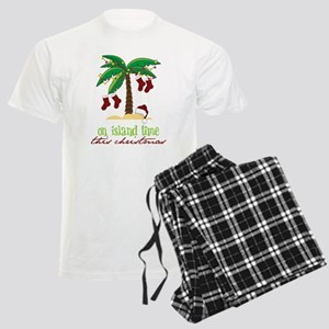 On Island Time Men's Light Pajamas
