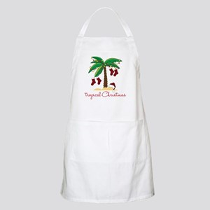 Tropical Christmas Apron