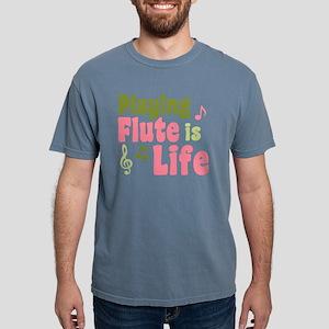 flute_is_life_shirt Mens Comfort Colors Shirt