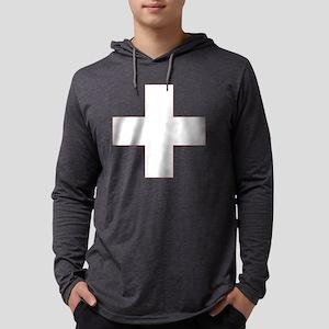 Swiss Cross-01 Xbg Mens Hooded Shirt